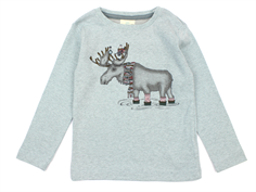 En Fant t-shirt Puritan gray with moose